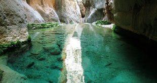 آبشارهای تنگه رغز داراب - اجاره اتومبیل طباطبایی