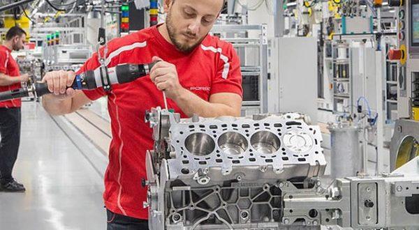 نگاهی به کارخانه جدید تولید پیشرانه 8 سیلندر شرکت پورشه - اجاره خودرو طباطبایی