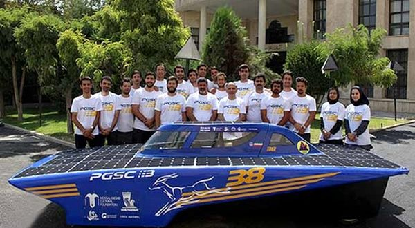 خودروی خورشیدی غزال 3 از خزر تا خلیج فارس سفر می کند - اجاره خودرو طباطبایی