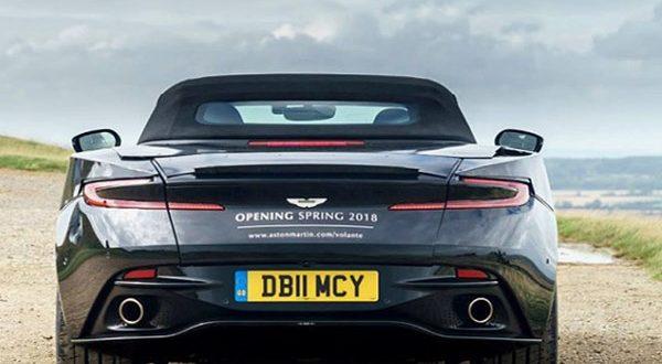 استون مارتین DB11 کانورتیبل سال 2018 وارد بازار میشود - اجاره خودرو طباطبایی