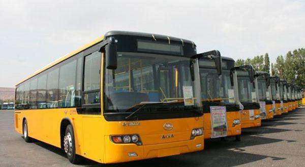 ناوگان اتوبوسرانی ورامین تقویت می شود - اجاره خودرو طباطبایی
