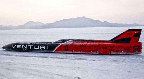 خودروی برقی ونتوری VBB-3 رکورد سرعت 549 کیلومتر در ساعت را به ثبت رساند - اجاره خودرو طباطبایی