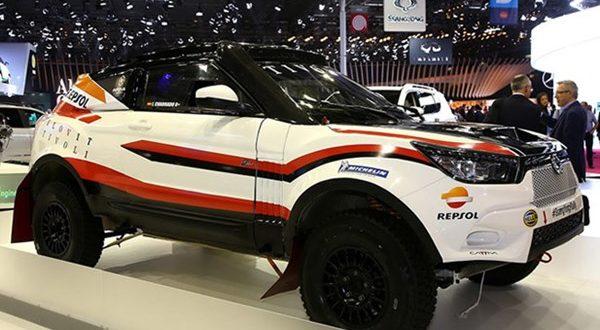 سانگ یانگ از تیوولی Rally Raid رونمایی کرد - اجاره خودرو طباطبایی