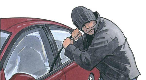 سارق داخل خودرو با 32 فقره سرقت در دام پلیس قزوین - اجاره خودرو طباطبایی