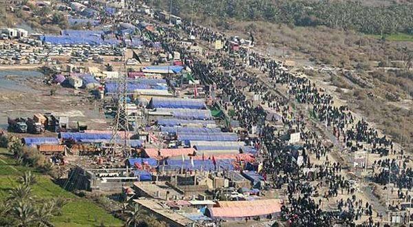 پارک 40 هزار خودرو زائران اربعین در توقفگاه های مهران - اجاره خودرو طباطبایی