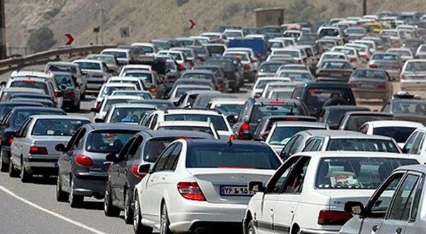 ترافیک سنگین در جاده مهران - اجاره خودرو طباطبایی