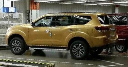 Nissan XTerra Leaked 2 538x282 افشای تصاویر نسل جدید نیسان اکسترا، شاسیبلندی بر اساس ناوارا   اجاره ماشین