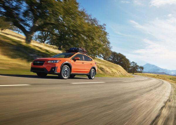 Subaru Crosstrek 2018 خلاص کردن خودرو در حین حرکت   اجاره ماشین