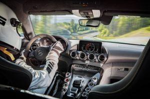 2018 Mercedes AMG GT R interior view 300x199 مرسدس بنز GTR   اجاره ماشین