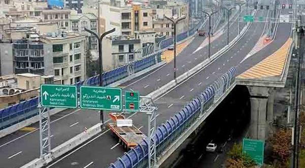 با اطلاع رسانی به شهروندان کلیه دسترسی های اضطراری پل صدر بسته شد - اجاره خودرو طباطبایی