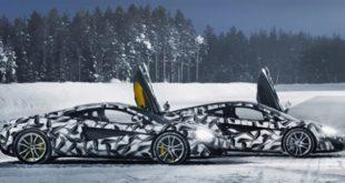 مک لارن آموزشگاه رانندگی برفی در مدار قطب شمال میسازد - اجاره خودرو طباطبایی