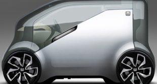 طرح مفهومی هوندا NeuV برای نمایشگاه CES 2017 - اجاره خودرو طباطبایی
