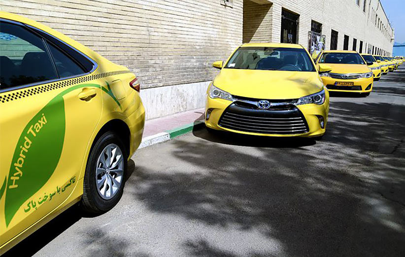 تاکسیهای برقی در راهند
