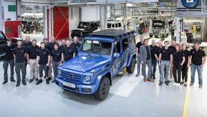 تولید سیصد هزارمین دستگاه مرسدس G کلاس - اجاره خودرو - 0