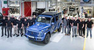 تولید سیصد هزارمین دستگاه مرسدس G کلاس - اجاره خودرو