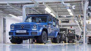 تولید سیصد هزارمین دستگاه مرسدس G کلاس - اجاره خودرو - 1