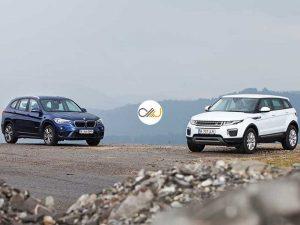 دوئل بامو X1 و رنجروور اووک - اجاره خودرو - 0