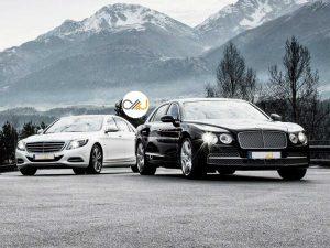 دوئل بنتلی فلاینگ اسپار و مرسدس-مایباخ S600 - اجاره خودرو - 0