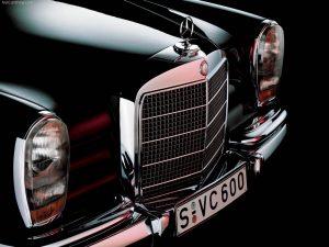 مرسدس بنز 600، تندیسی از سالهای دور - اجاره خودرو - 0