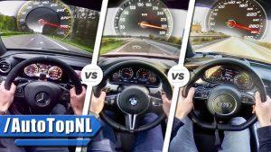 نبرد هایپرسدانها: شاخبهشاخ E63 S، M5 و RS7 - اجاره خودرو - 0