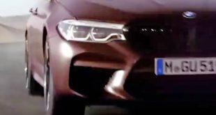 یک قدم به رونمایی از M5 جدید - اجاره خودرو