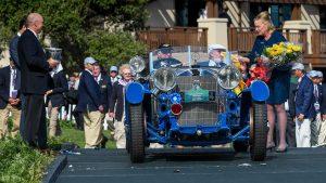 مرسدس بنز S Barker Tourer 1929، خودروی برگزیده پبل بیچ 2017 - اجاره خودرو - 1