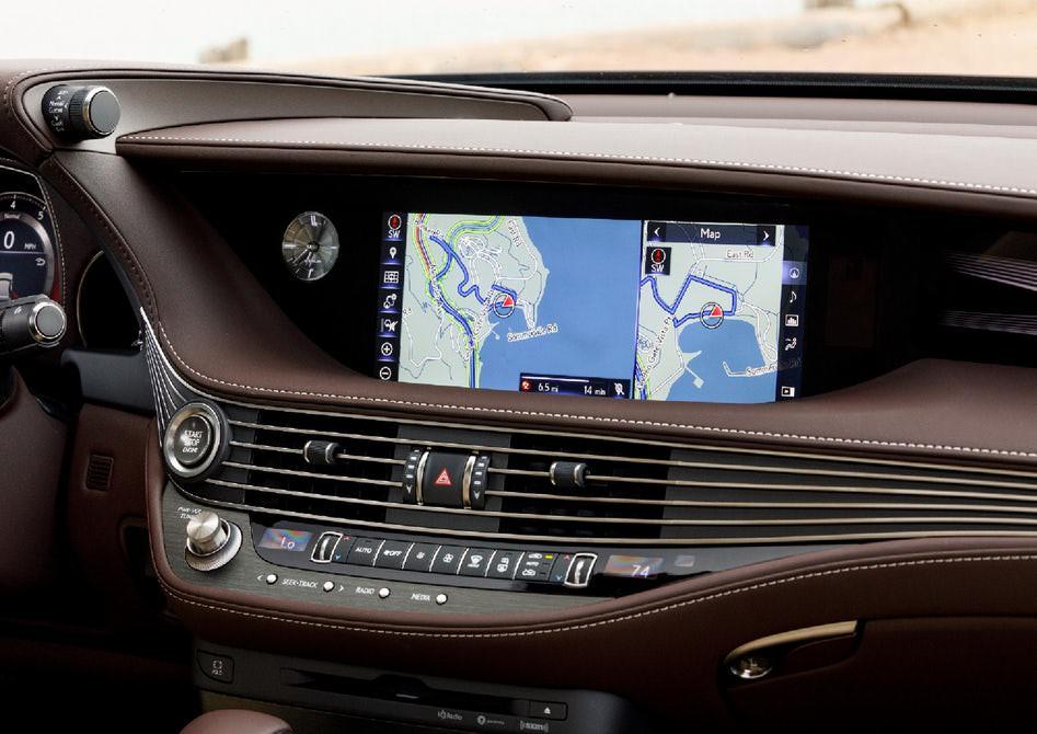 لکسوس 2018 LS 5 لکسوس ۲۰۱۸ LS مدل هیبرید مشخصات فنی این خودرو   اجاره ماشین