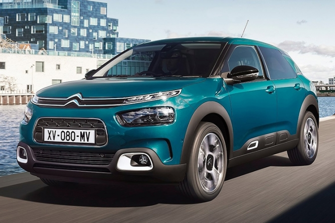 نسخهی ۲۰۱۸ سیتروئنC4-اجاره خودرو-اجاره ماشین