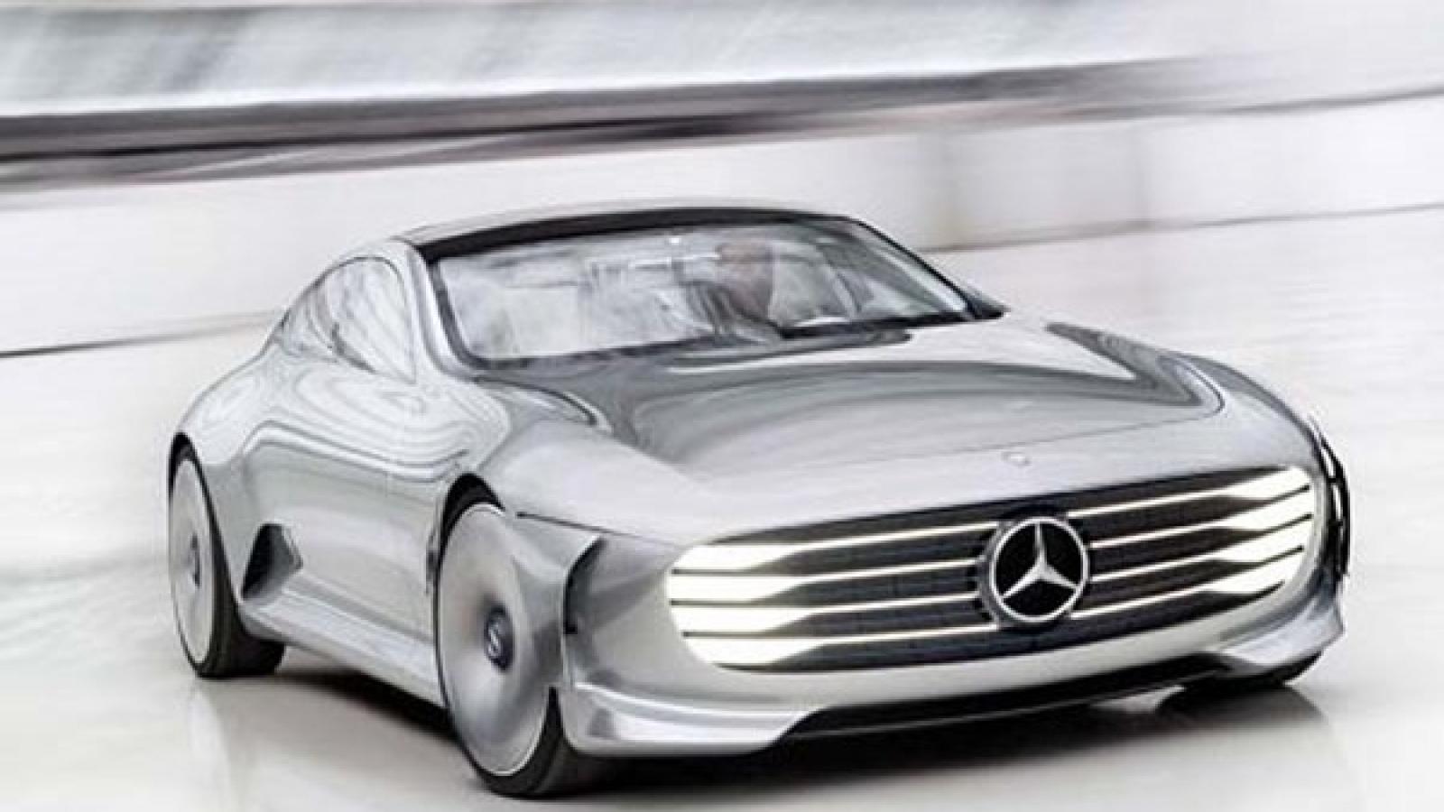 مرسدس بنز مفهومی - برقی از راه میرسد - اجاره خودرو طباطبایی