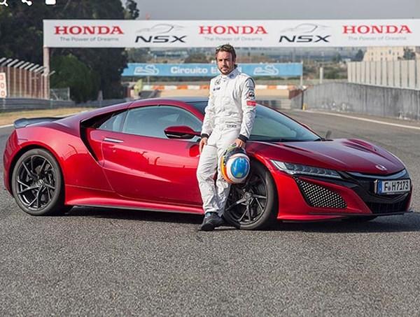 فرناندو آلونسو: آکورا NSX حسی مشابه خودروهای فرمول یک دارد - اجاره خودرو طباطبایی