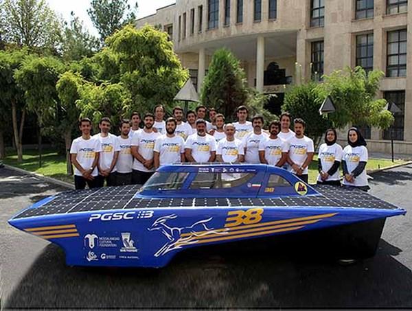 تمرکز بر طراحی و ساخت خودرو خورشیدی غزال ایرانی 4 - اجاره خودرو طباطبایی