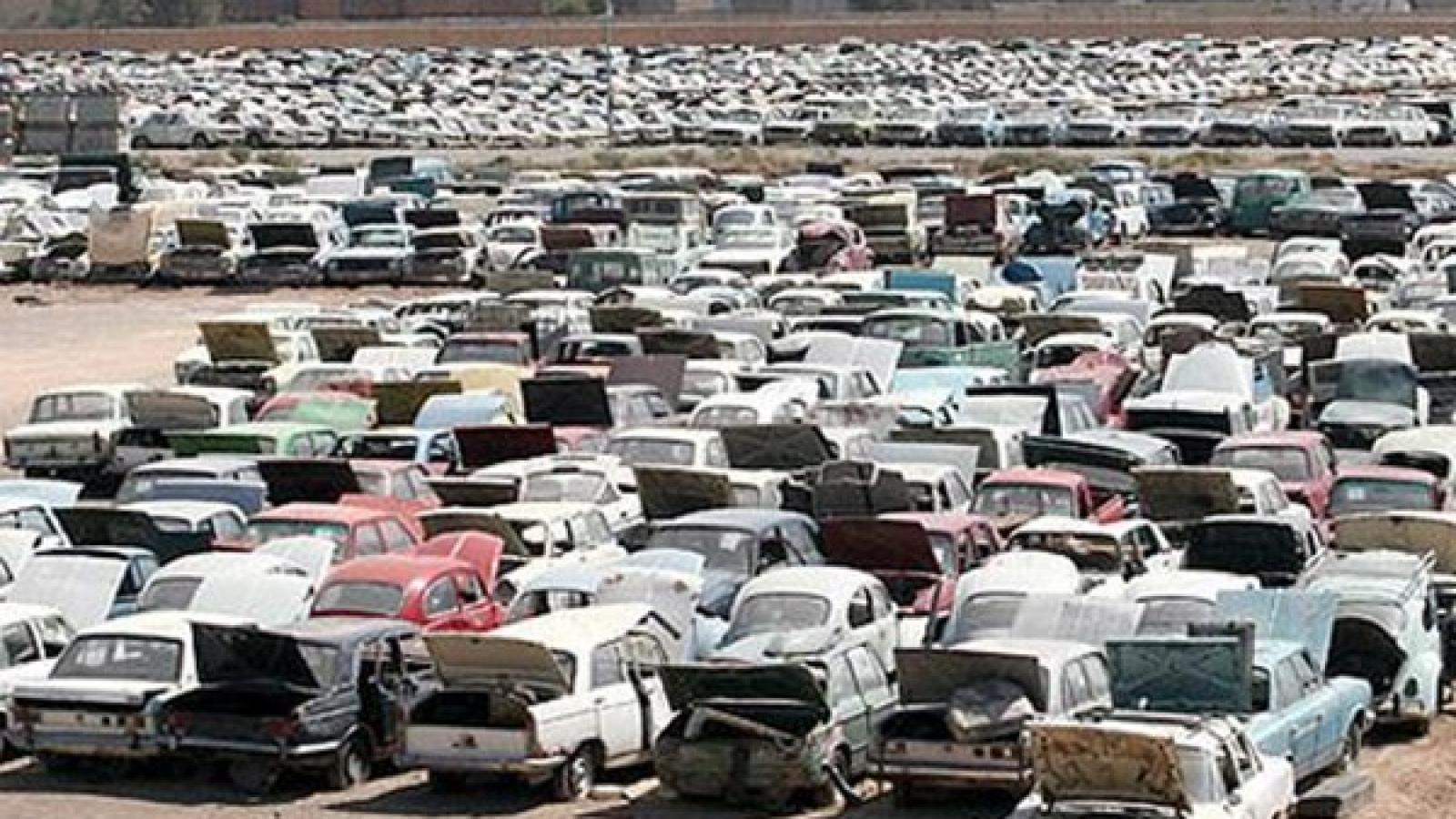 مشکل کمبود مراکز اسقاط بر سر راه نوسازی ناوگان تاکسیرانی - اجاره خودرو طباطبایی