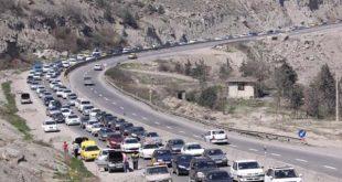 اعمال محدودیت ترافیکی در محورهای کندوان و فیروزکوه - اجاره خودرو طباطبایی