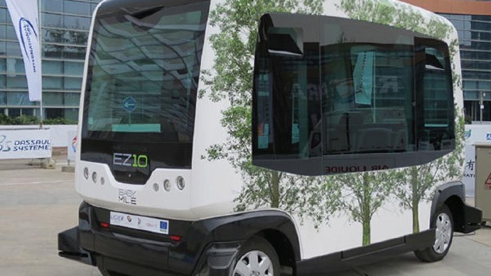 اتوبوس خودران EZ10 وارد خیابان های هلسینکی می شود - اجاره خودرو طباطبایی