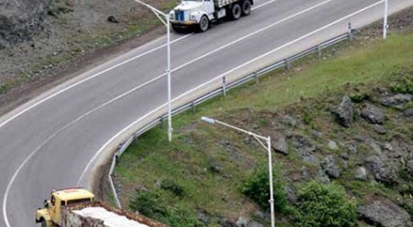 ممنوعیت تردد وسایل نقلیه سنگین در لاین سرعت - اجاره خودرو طباطبایی