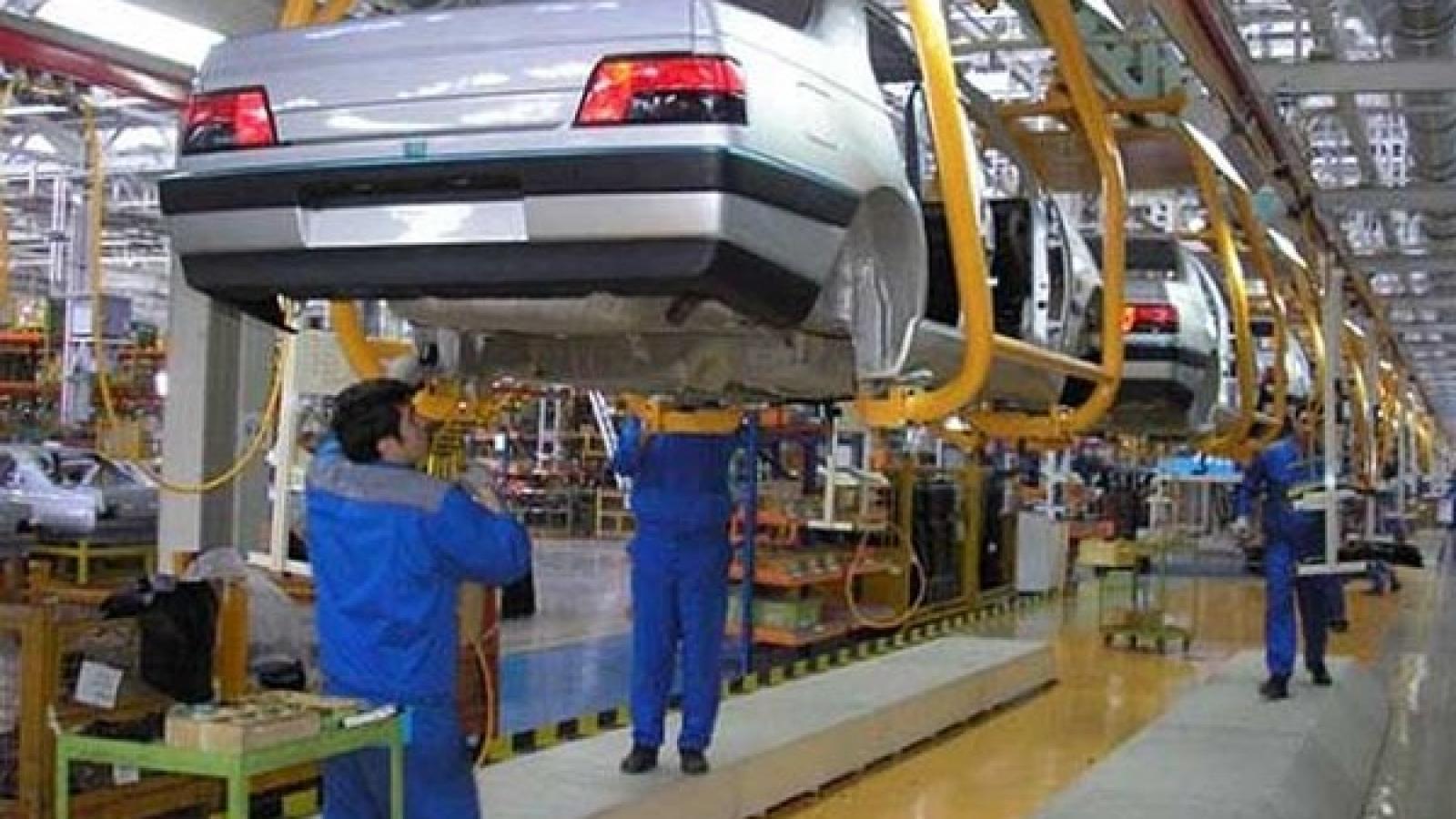 افزایش 36 درصدی تیراژ تولید در ایران خودرو - اجاره خودرو طباطبایی