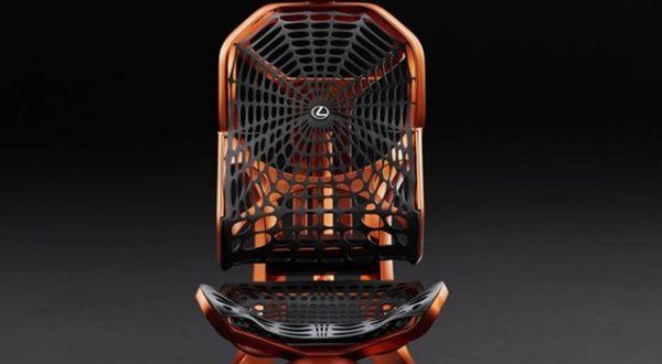 صندلی متحرک، ایده جدید لکسوس برای صندلی خودرو - اجاره خودرو طباطبایی