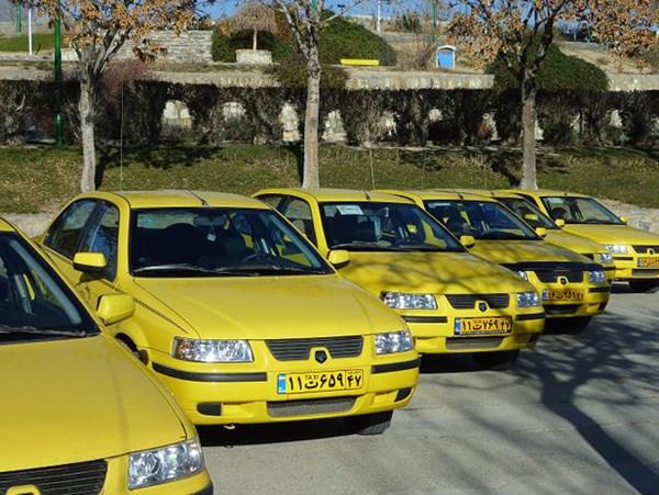 ورود 85 دستگاه تاکسی نوسازی شده به ناوگان تاکسیرانی بروجرد - اجاره خودرو طباطبایی