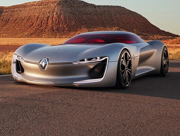 رنو ترزور معرفی شد؛ پیش نمایشی از آینده خودروها - اجاره خودرو طباطبایی