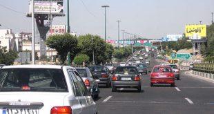 ترافیک تقاطع بلوار فردوس-بهار ساماندهی می شود - اجاره خودرو طباطبایی