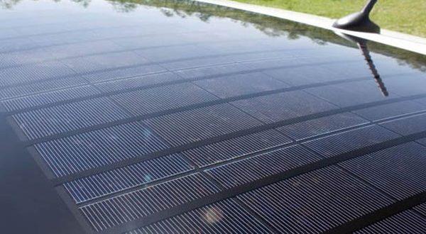 همکاری تسلا و پاناسونیک برای ساخت پنل خورشیدی خودرو - اجاره خودرو طباطبایی