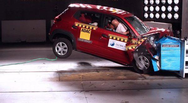 رنو کوئید و نتایج ضعیف در آزمون تصادف NCAP - اجاره خودرو طباطبایی