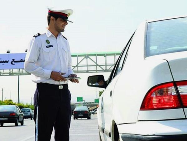 برخورد پلیس راهور با صاحبان خودروهای پلاک مخدوش