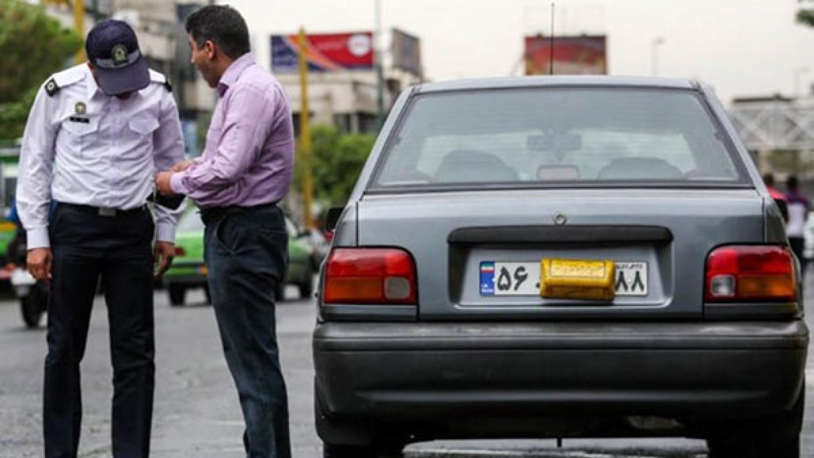 توقیف 6 هزار دستگاه خودروی پلاک مخدوش در تهران - اجاره خودرو طباطبایی