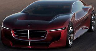 مدل مفهومی مرسدس بنز تعریف جدیدی از آیرودینامیک ارائه میدهد - اجاره خودرو طباطبایی