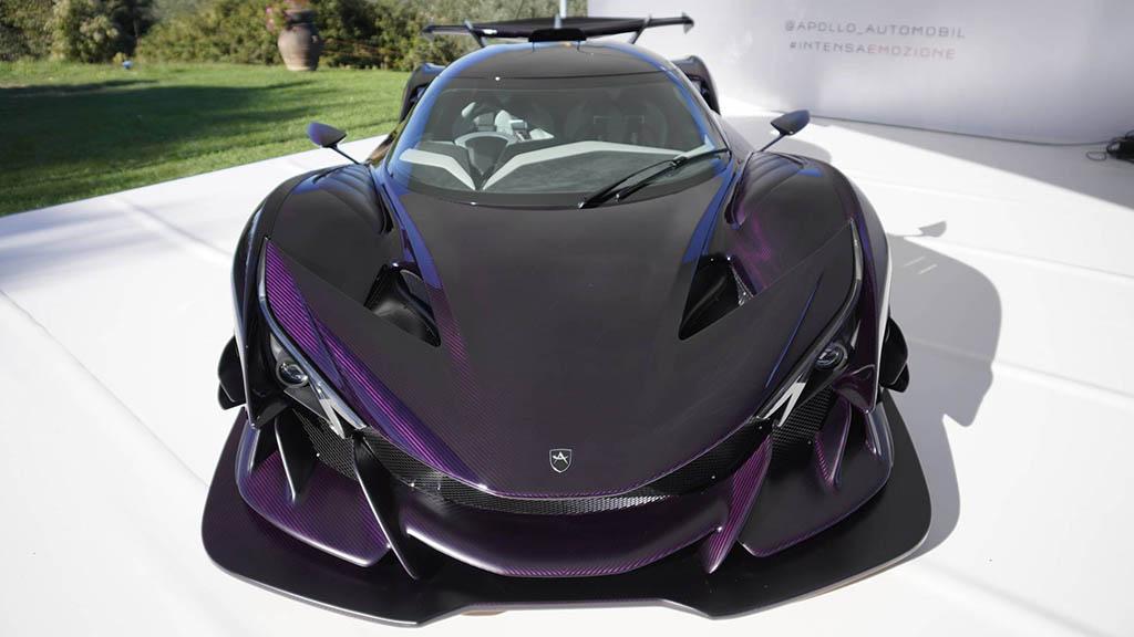 2018 apollo intensa emozione 4 1 هیولای جدید صنعت خودرو، آپولو اینتنزا Emozione   اجاره ماشین