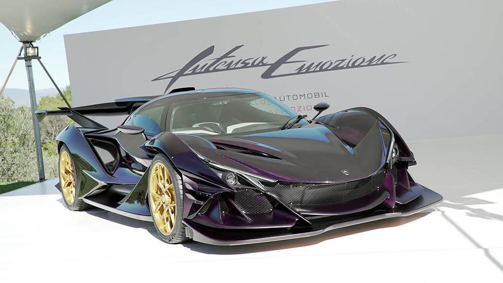 2018 apollo intensa emozione 5 1 هیولای جدید صنعت خودرو، آپولو اینتنزا Emozione   اجاره ماشین