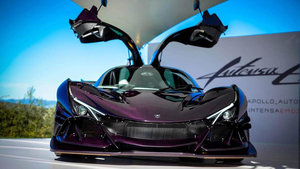 2018 apollo intensa emozione launch 1 هیولای جدید صنعت خودرو، آپولو اینتنزا Emozione   اجاره ماشین