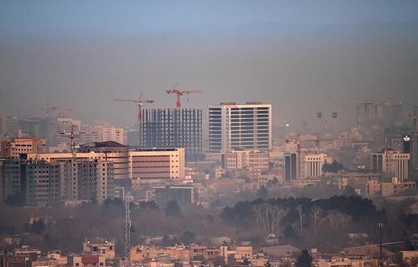 تشدید آلودگی هوای کلانشهر مشهد