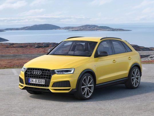 Audi Q3 2017 1600 04 538x404 1 قابلاطمینانترین و غیرقابلاطمینانترین خودروهای ۲۰۱۷   اجاره ماشین